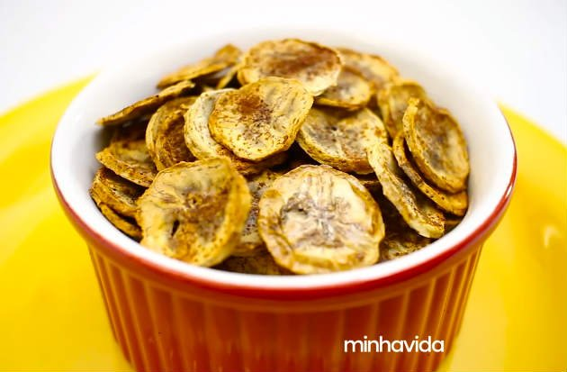 Chips de banana light