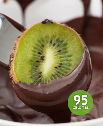 Kiwi com chocolate - foto: Getty Images