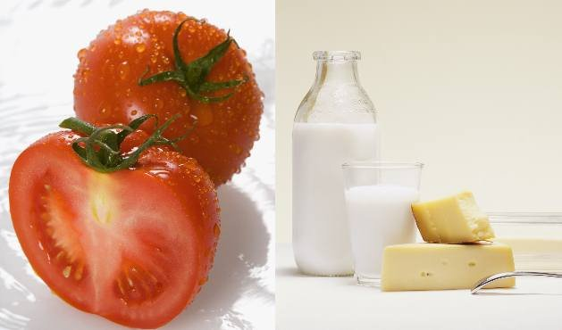Tomate e leite - Foto Getty Images