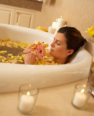 Banho relaxante - Foto Getty Images