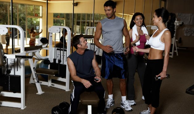 Personal trainer em grupo - foto: Getty Images