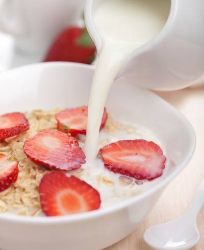 leite com cereal - foto Getty Images