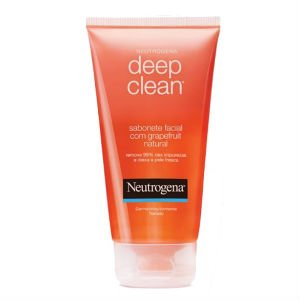 Sabonete Facial Neutrogena Deep Clean Grapefruit Natural R$ 18,06