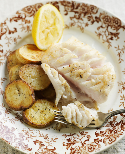 bacalhau com batatas assadas - Foto Getty Images