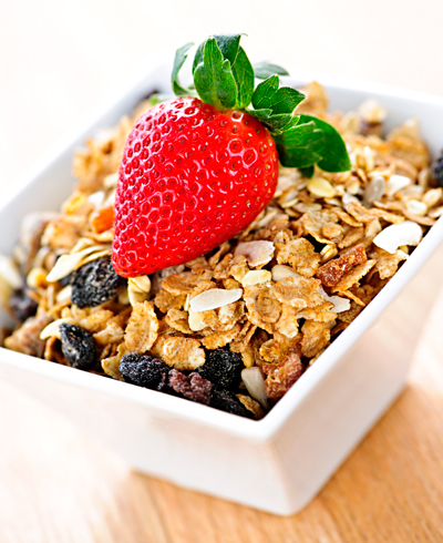 pote com granola - Foto Getty Images