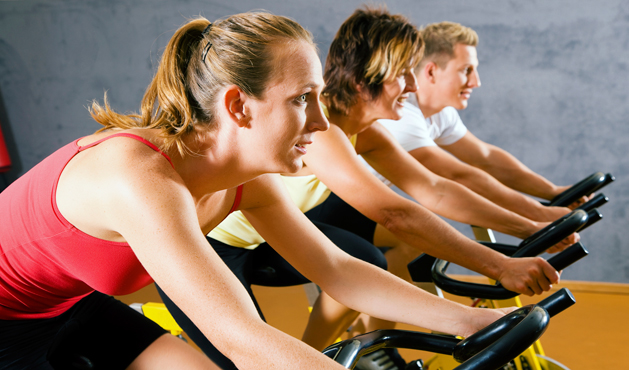 Aula de spinning  - Foto: Getty Images