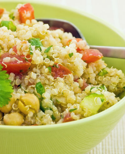 Salada de quinoa com chia - Foto: Getty Images