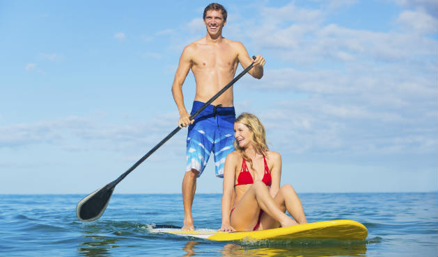 Stand up paddle proporciona bem-estar - Foto: Getty Images